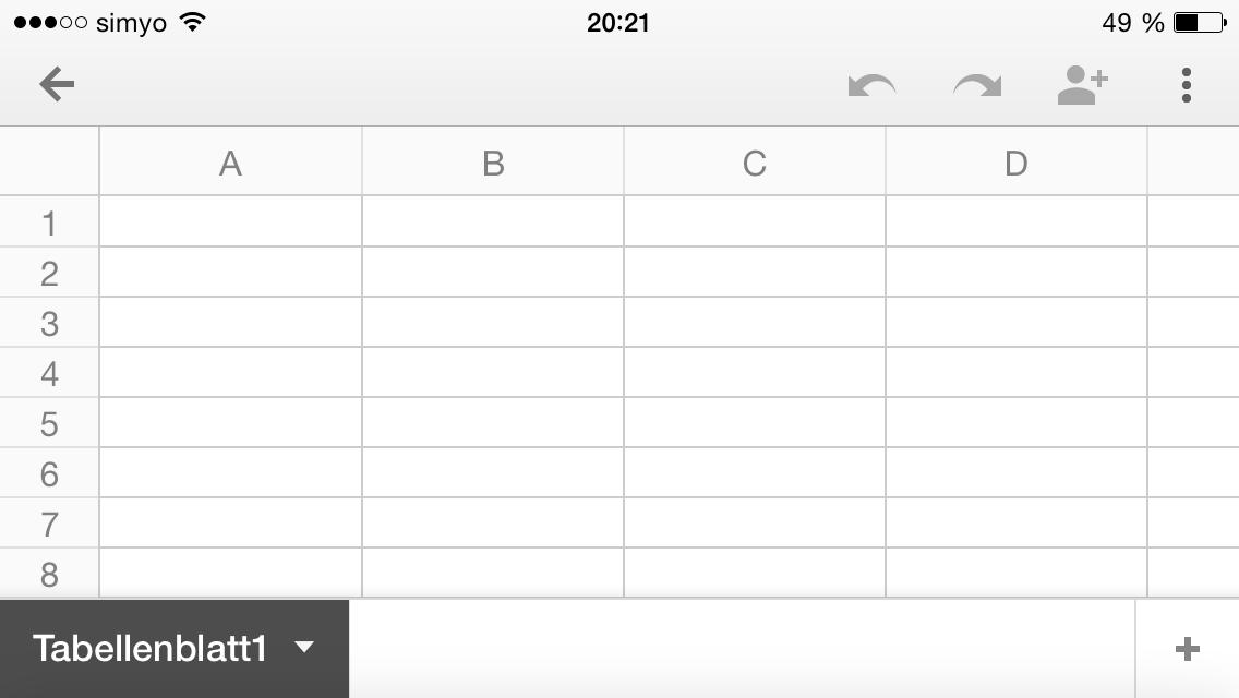Google Tabellen | Medien in die Schule