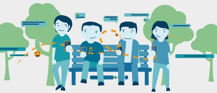 Jugend und Handy – Ständig vernetzt mit Smartphone & Co