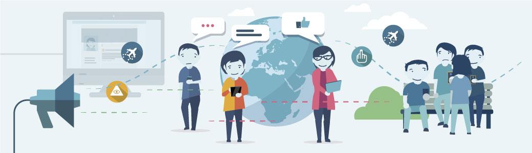 Meinungen im Netz gestalten